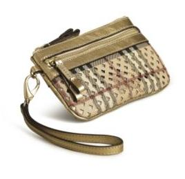 Burberry Wristlet from 2010 collection.